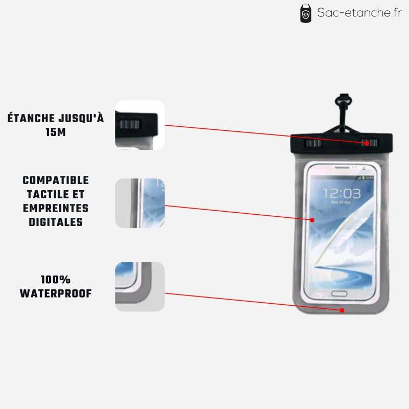 pochette étanche téléphone