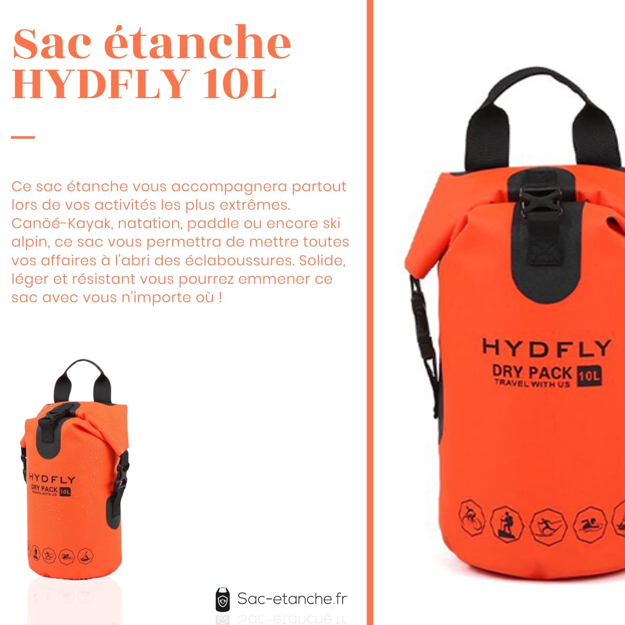 sac étanche hydfly caractéristiques