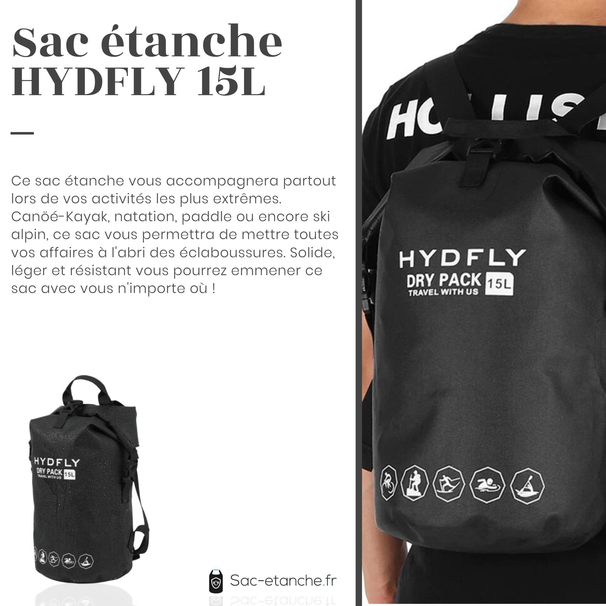 sac étanche hydfly 15l