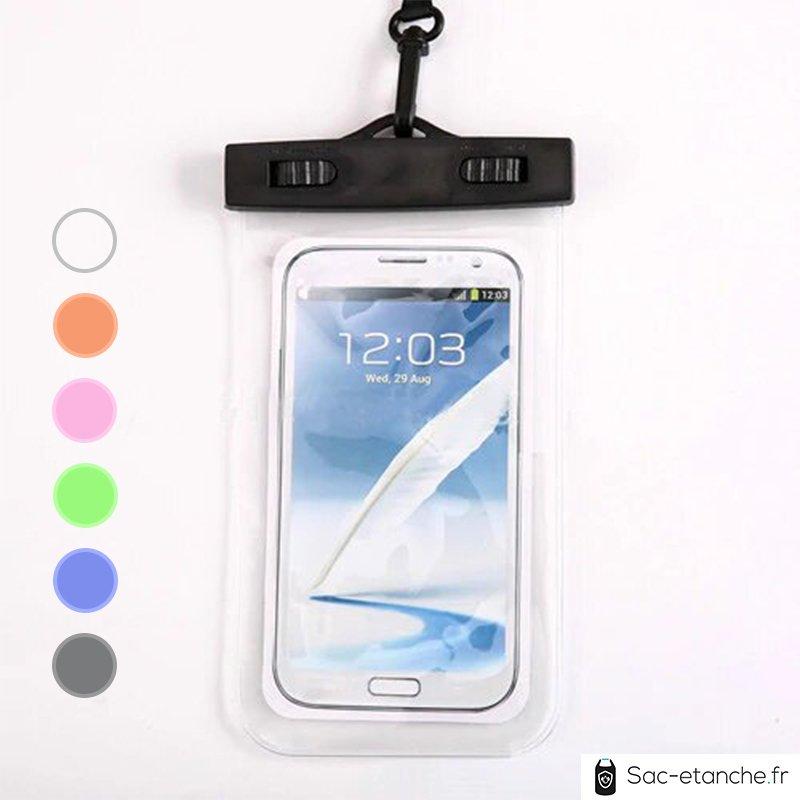 pochette étanche transparente pour téléphone