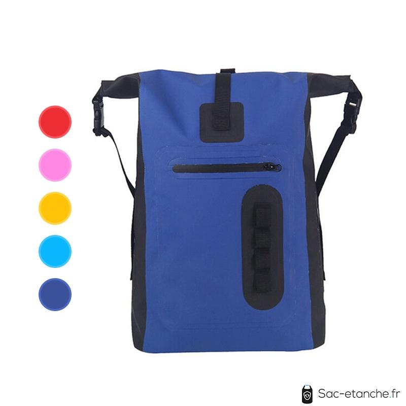 sac a dos étanche bleu