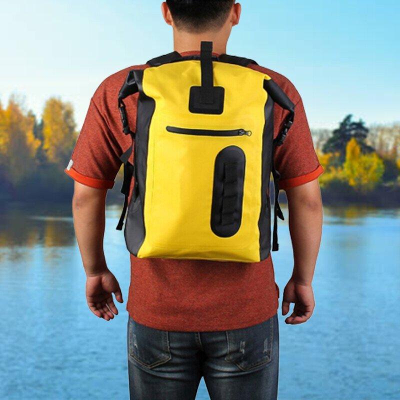 sac à dos étanche jaune