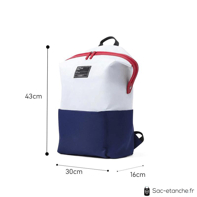 sac à dos étanche étudiant dimensions