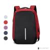 sac à dos étanche et antivol rouge