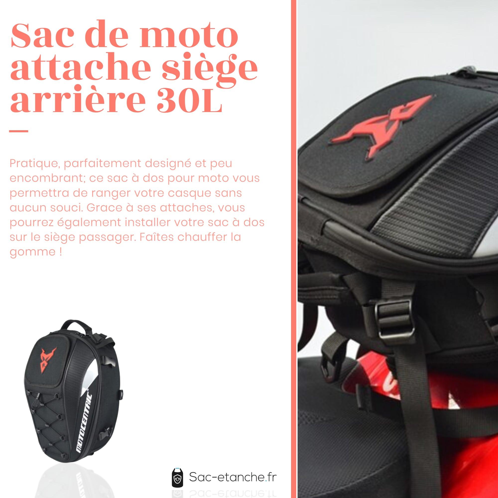 sac moto extensible