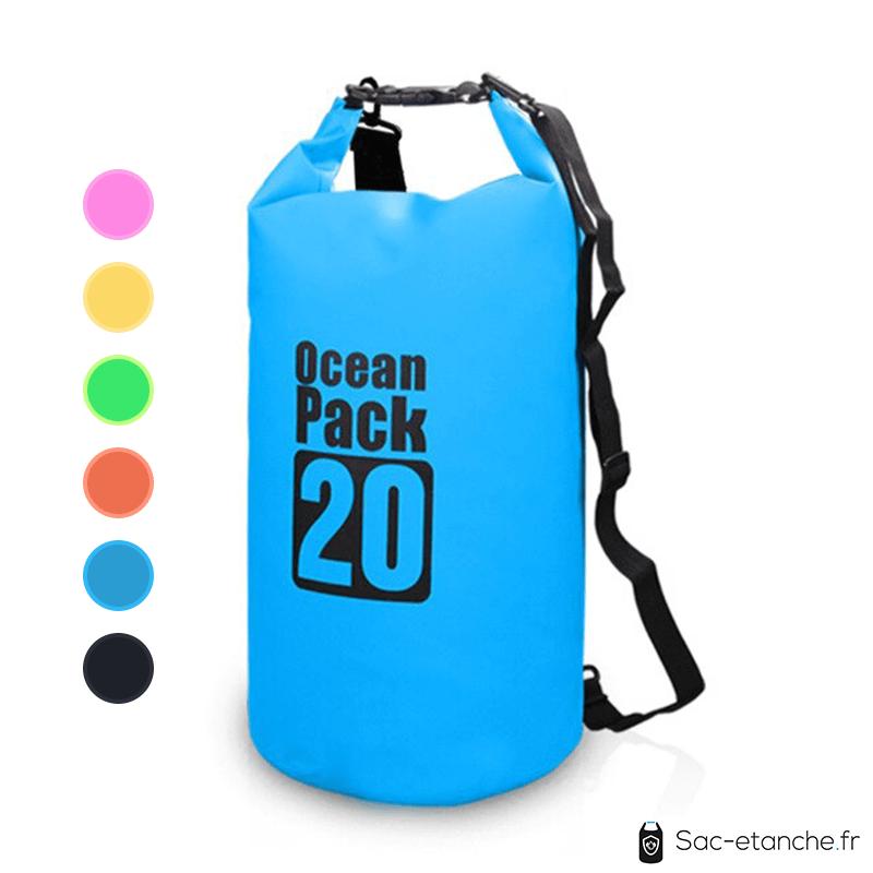 sac etanche ocean cap 20l bleu