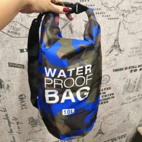 Sac Étanche Waterproof Camouflage Bleu - Toutes tailles disponibles