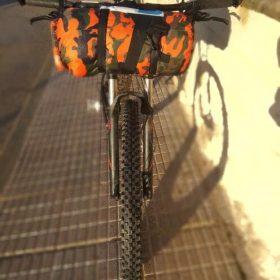 Sac Étanche Waterproof Camouflage Orange - Toutes tailles disponibles