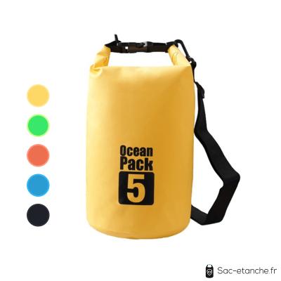 sac jaune ocean pack 5l