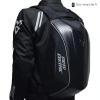 sac de moto carbone noir