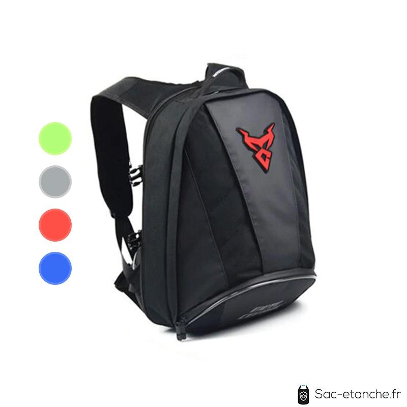 sac moto polyvalent rouge