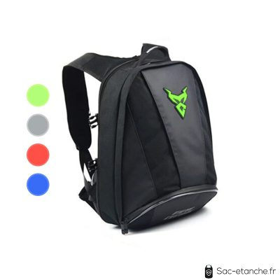 sac moto polyvalent vert