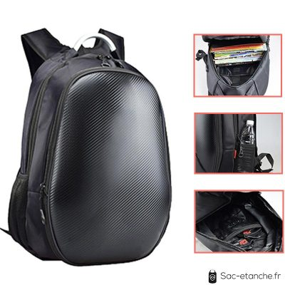 sac moto extensible carbone 2