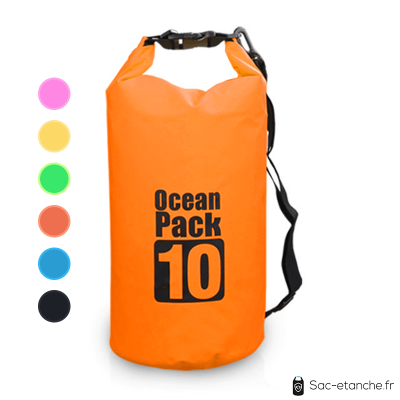 sac etanche ocean pack orange