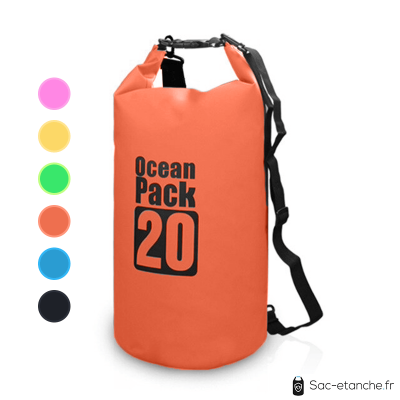 sac etanche ocean cap 20l orange