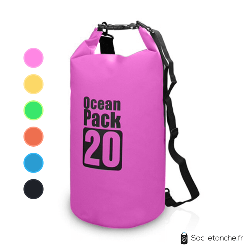 sac etanche ocean cap 20l rose