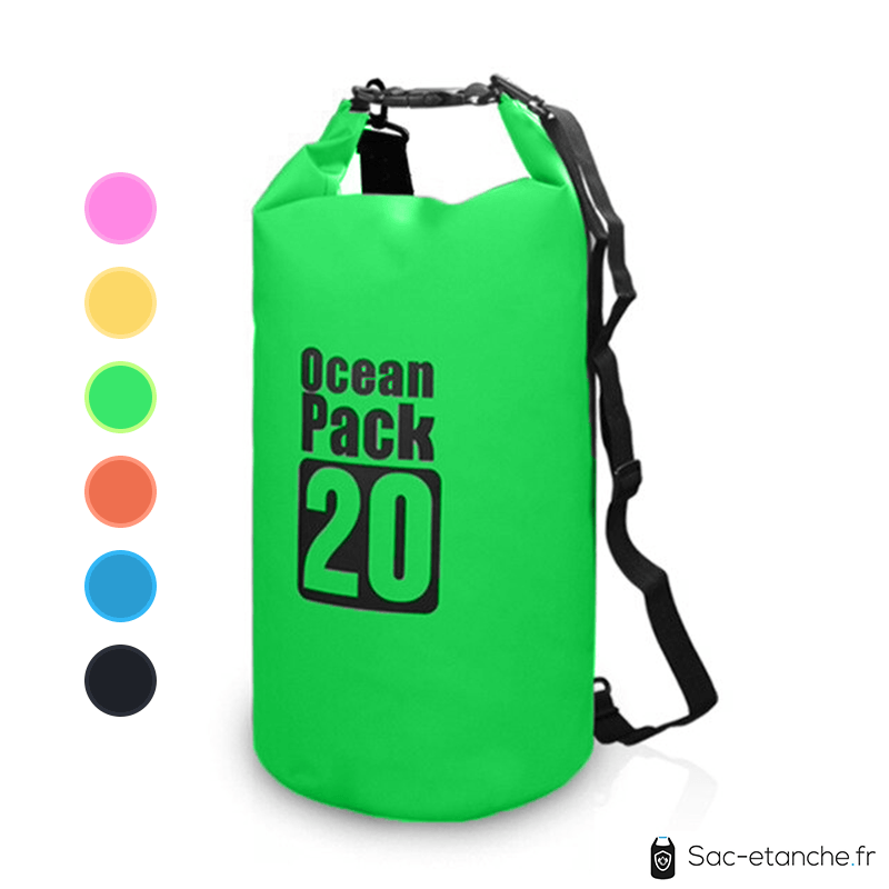 sac etanche ocean cap 20l vert