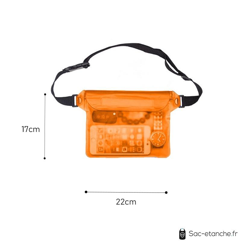 pochette étanche waterproof dimensions